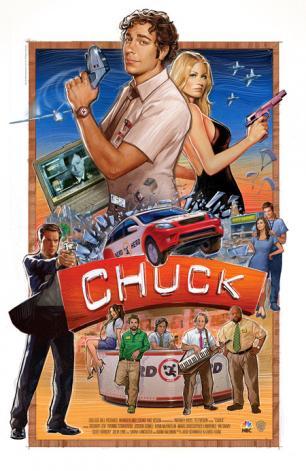 chuck 3. sezon posteri