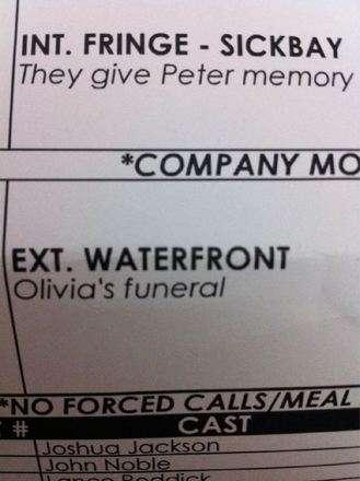 Olivia's Death