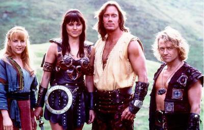 Xena ve Hercules kadrosu