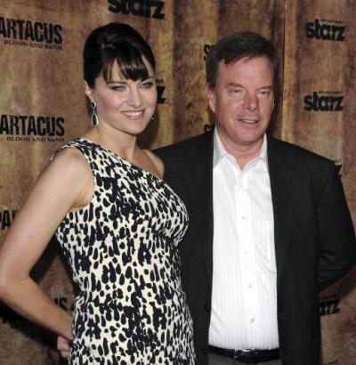 Lucy Lawless ve eşi Robert Tapert