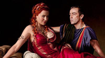 Lucretia ve eşi Lentulus Batiatus