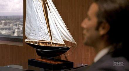Mr.Widmore 'un ofisindeki tekne