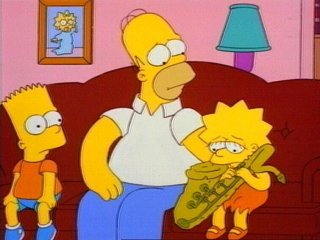 Lisa ve saksafonu