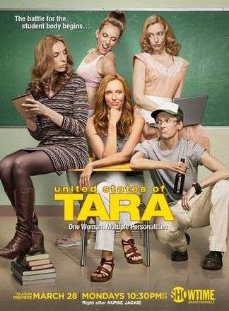United States of Tara 3. sezon posteri