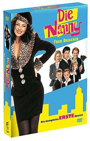 The Nanny 1. Sezon DVD seti