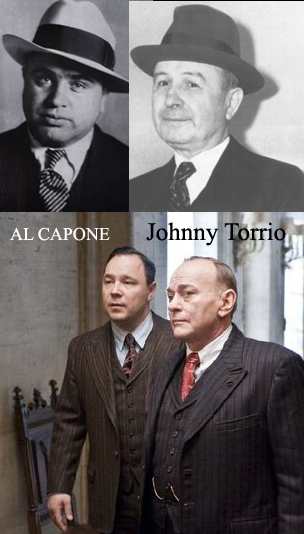 Al Capone ve Johnny Torrio