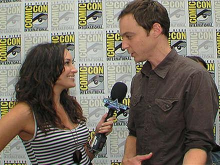 Jim Parsons ile Comic-con'da bir röportaj