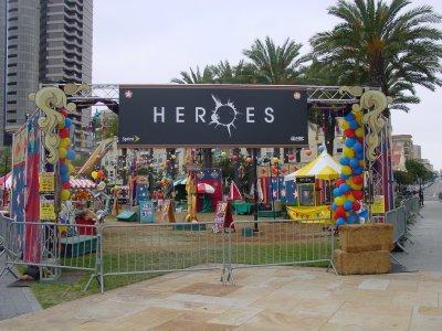 2009 Comic-con'undaki Heroes karnavalı