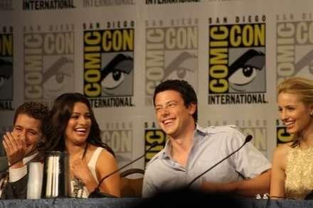 2010 Comic-con'undaki Glee Paneli