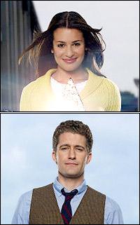 Rachel Berry (Lea Michele), Will Schuester (Matthew Morrison)