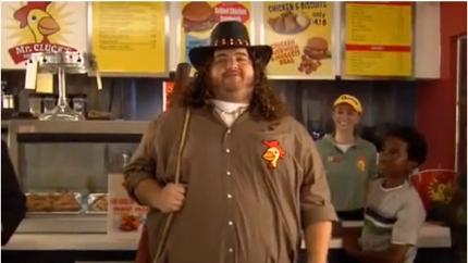 Hugo Reyes - Mr. Clucks fast food zinciri