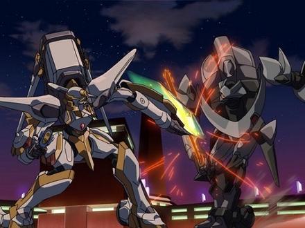 şövalye robotlar savaşırken