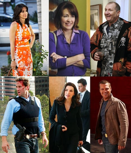 Cougar Town, The Middle, Modern Family, Flashforward, The Good Wife, NCIS:L.A.