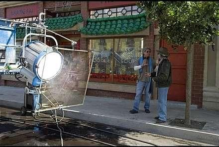 setten bir kamera arkası görüntüsü