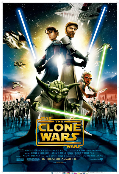 SW : The Clone Wars Poster