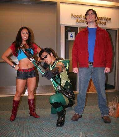 Comic-Con'un Renkli Katılımcılarından Smallville ve Superman Hayranları