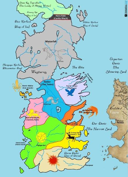 Westeros Haritası