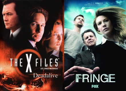 x-files ve fringe