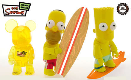 The Simpsons boobleheads
