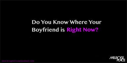 Erkek arkadaşının şu an nerede olduğunu biliyor musun?