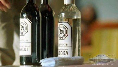 votka şişesindeki swan logosu
