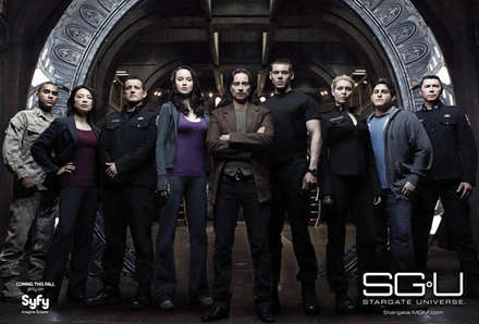 ronald greer (jamil walker smith), camile wray (ming-na), everett young (justin louis), chloe armstrong (elyse levesque), dr. nicholas rush (robert carlyle), matthew scott (brian j. Smith), tamara johansen (alaina huffman), eli wallace (david blue), david telford (lou diamond phillips)